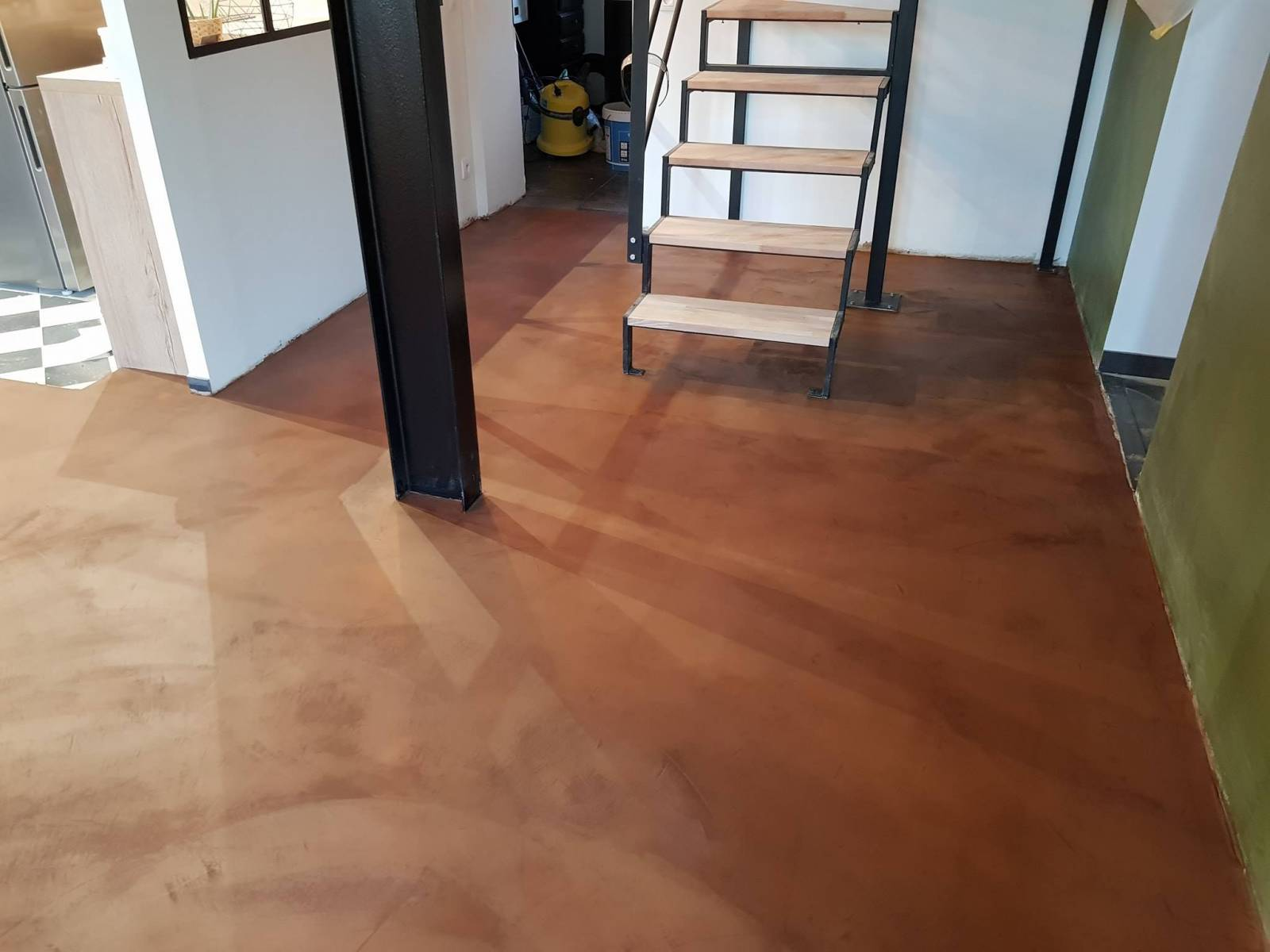 Beton Ciré Pour Salle De Bain professionnel pour l'application de béton ciré au sol dans