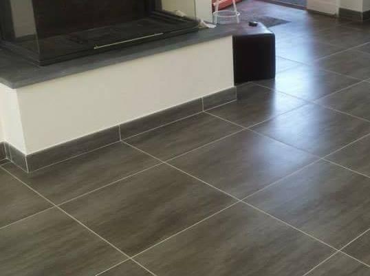 R novation du carrelage sur sol salon et salle de bain situ paris ile de france carrelage - Salon de la salle de bain paris ...